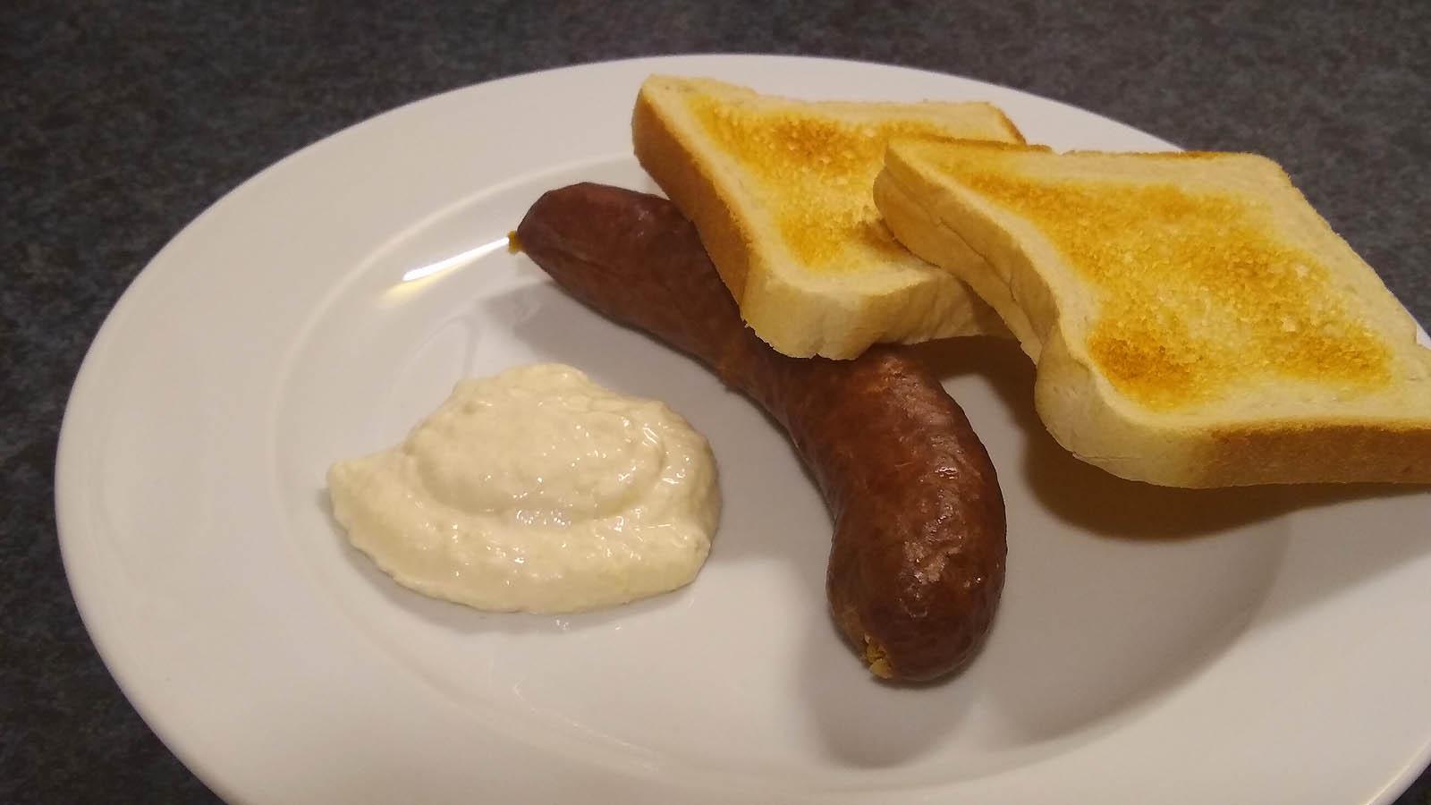 1_Gekochte geräucherte Paprikabratwurst